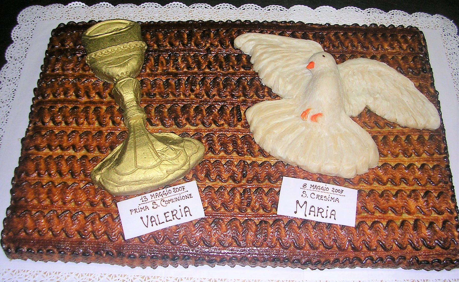 torta cresima e comunione1