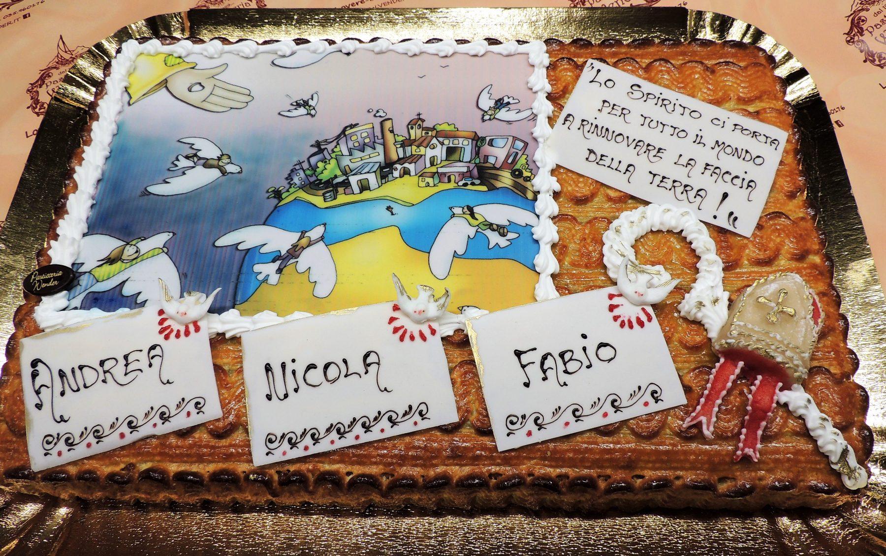 torta cresima e comunione2